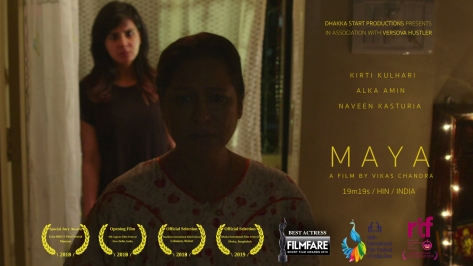 Maya (by Vikas Chandra IND) Poster